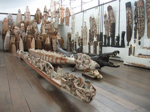 Asmat woodcraft