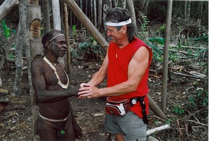 Papua-Korowai-tree people tribe