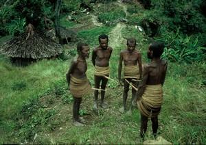 Papua Yali tribe